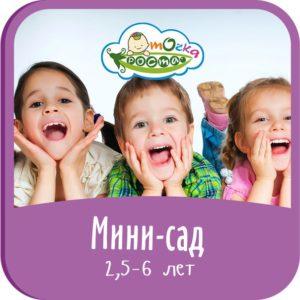 Курсы для детей от 0,6 до 3 лет