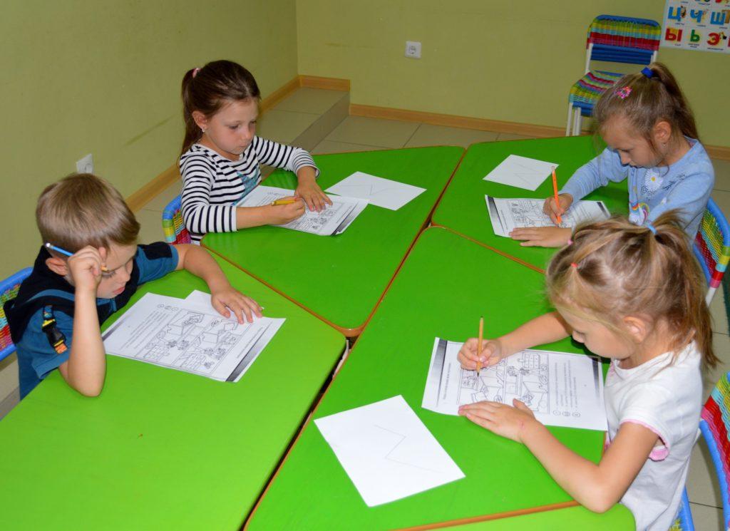 """Понятия """"точка"""", """" прямая"""", """"кривая"""", """" ломаная"""" изучали наши ученики курса """"Успехи - подготовка к школе"""""""